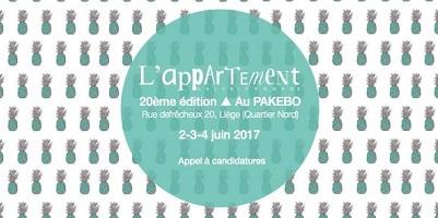 L'Appartement 20ème édition au Pakebo