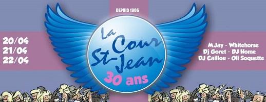 Agenda ► La Cour St Jean – 30 Ans!