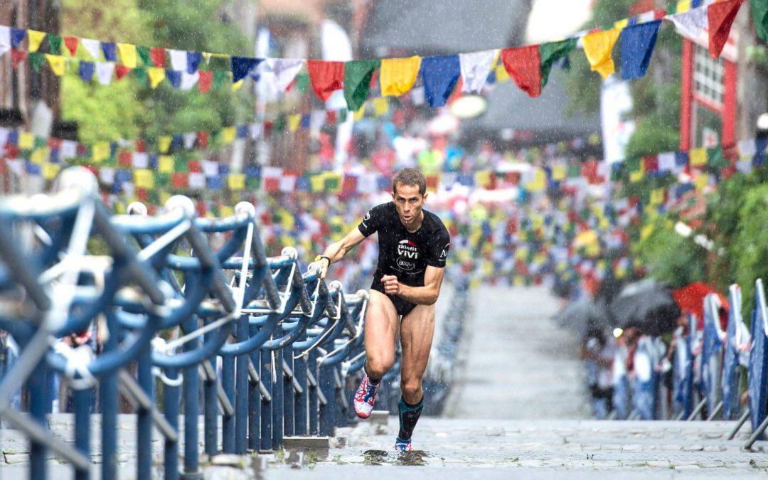 Jogging de la Montagne de Bueren aujourd'hui en fin de journée