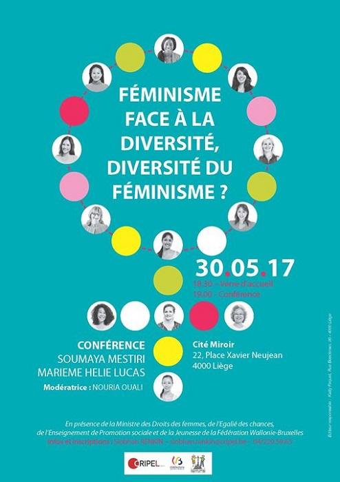 Conférence : Féminisme face à la diversité, diversité du féminisme ?