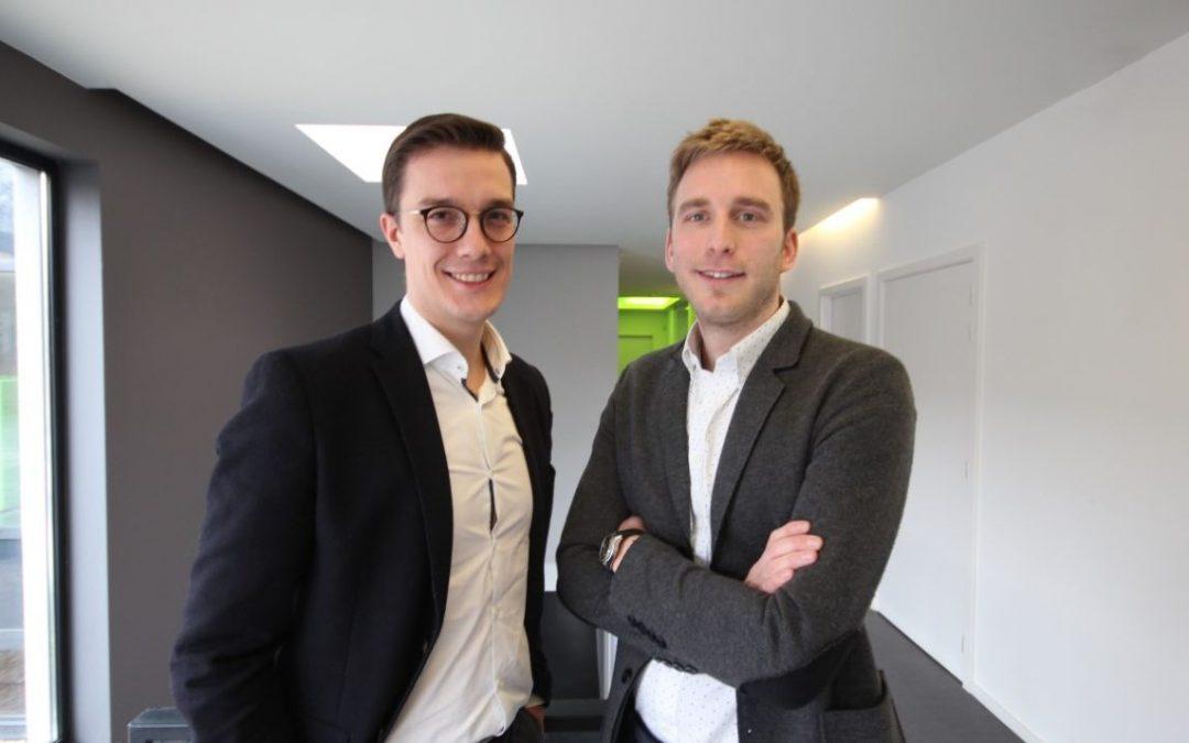 Deux jeunes Liégeois vont lever 1 million d'euros pour l'énergie renouvelable