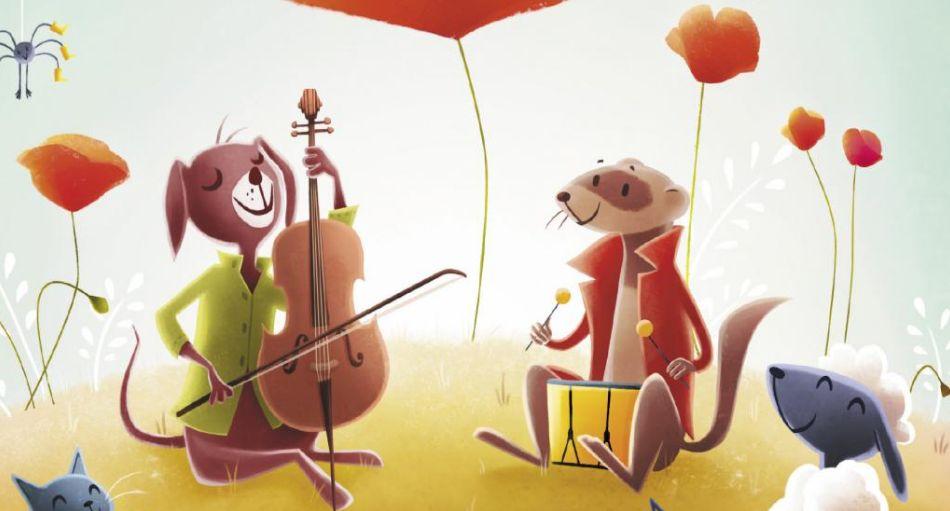 De célèbres comptines agréablement revisitées par notre orchestre philharmonique: concert demain