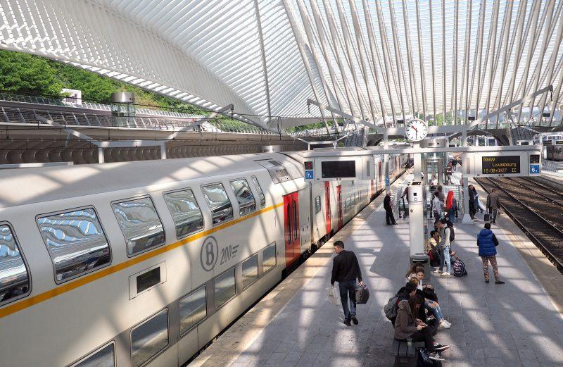 La circulation des trains interrompue entre les Guillemins et Herstal/Liers durant l'été