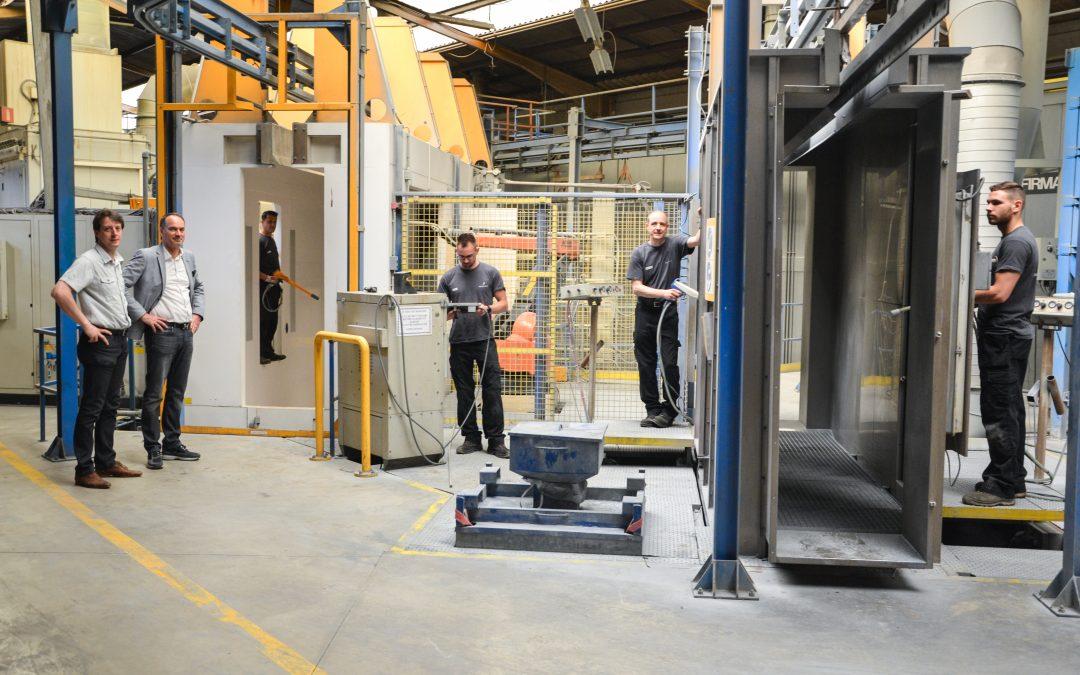 Deroanne reprend la société TDS à Sclessin et crée 15 emplois à Liège