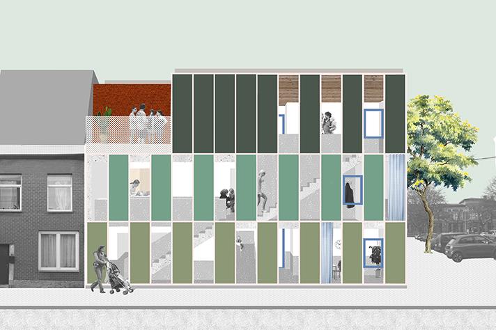 Nouvelle crèche de 42 lits dans le quartier de Sainte-Walburge