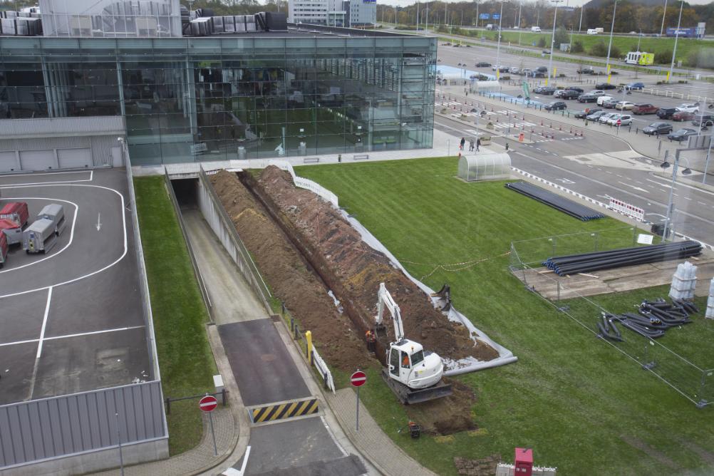 Liège Airport installe une unité de trigénération pour produire électricité, chaleur et froid