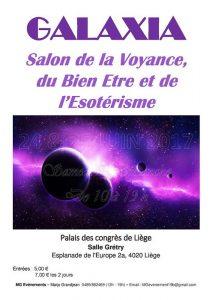 Salon galaxia agenda for Salon voyance 2017