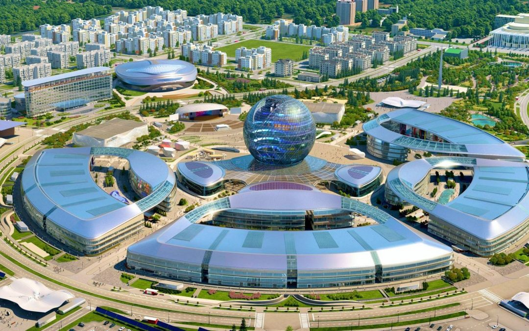 L'exposition internationale d'Astana est très peu fréquentée