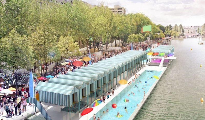 Liège veut sa piscine en plein air sur la Meuse