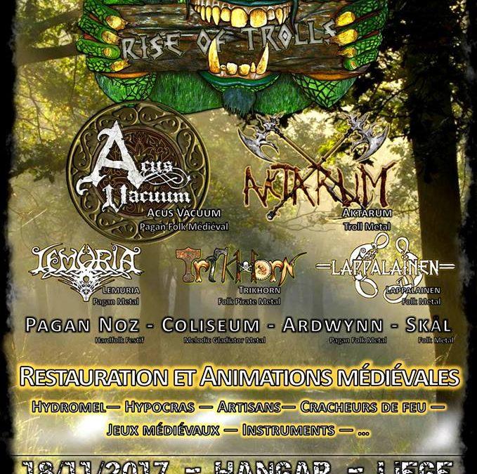 Agenda ► Rise Of Trolls – Medieval / Folk Metal Festival