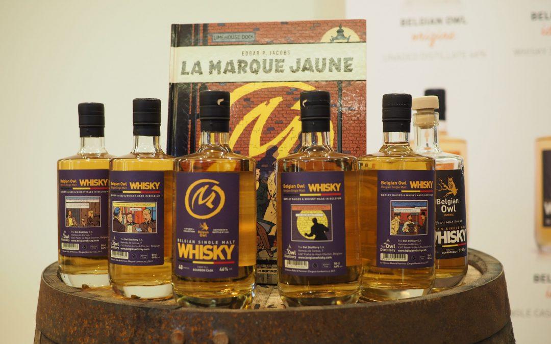 Le whisky hesbignon Belgian Owl sort une édition spéciale