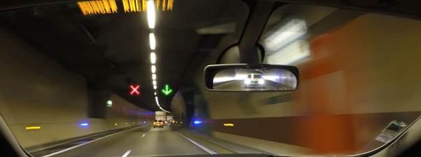 Changement dans la signalisation du tunnel sous Cointe et de la liaison E25-E40