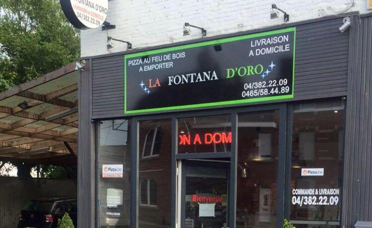 La Fontana D'Oro (Chênée) est le meilleur restaurant de livraison à domicile sur takeaway.com