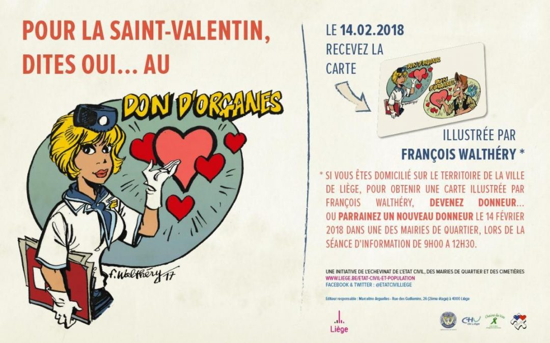 Pour la Saint-Valentin, dites oui au don d'organes