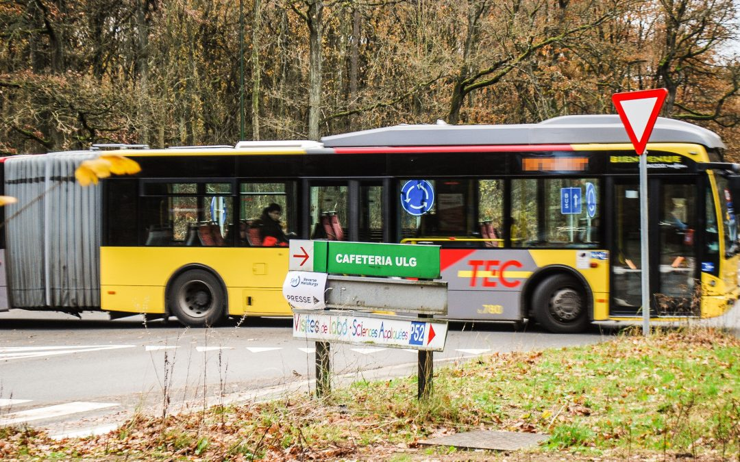 Trajet du bus 48 modifié et nouveaux feux sur le campus du Sart-Tilman