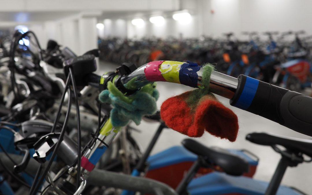 Venez chercher vos kits d'éclairage pour vélos aux Guillemins