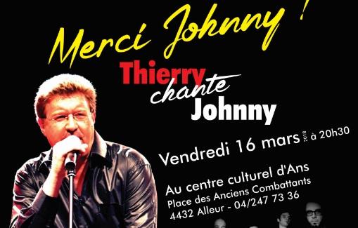 Rock and roll au Centre culturel d'Ans avec Thierry Luthers le 16 mars prochain