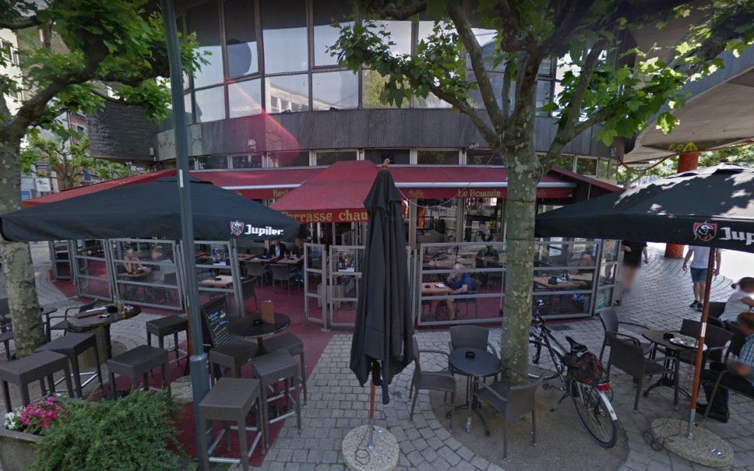 Chiroux: la Brasserie Le Bouquin reste fermée