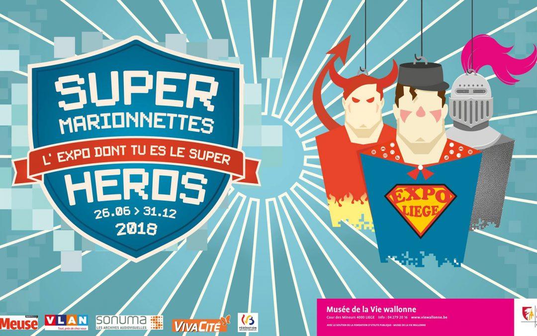 Agenda ► Super Marionnettes – L'Expo dont tu es le Super Héros !