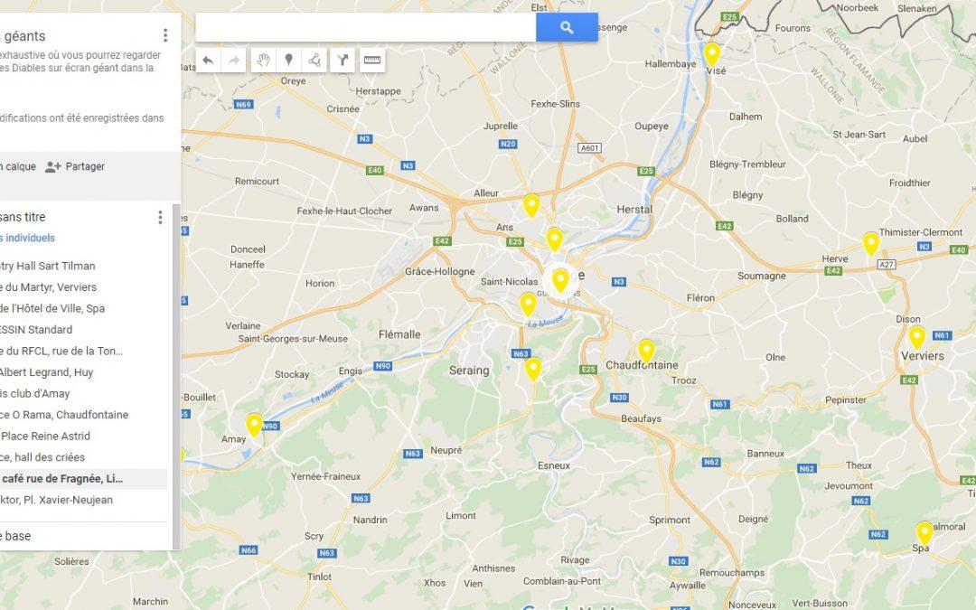 Où regarder les matches des Diables sur écran géant en province de Liège