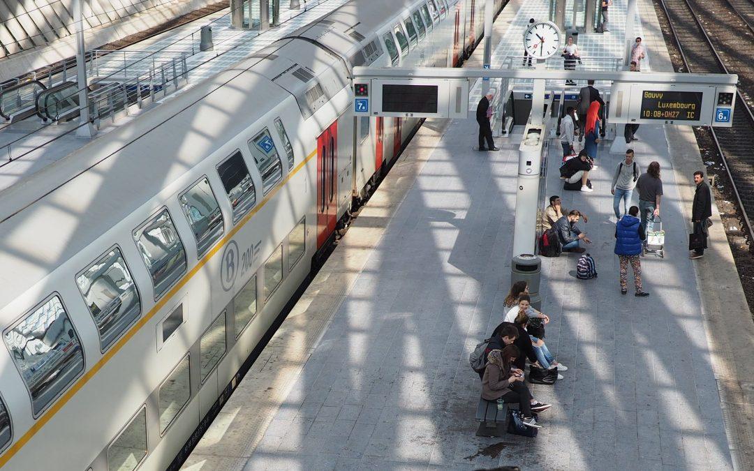 Déraillement d'un train et trafic ferroviaire perturbé hier aux Guillemins