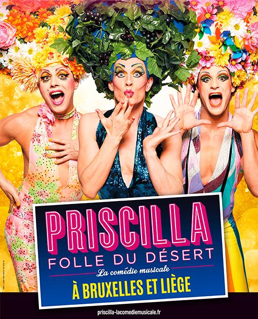 Agenda ► Priscilla, folle du désert – le musical