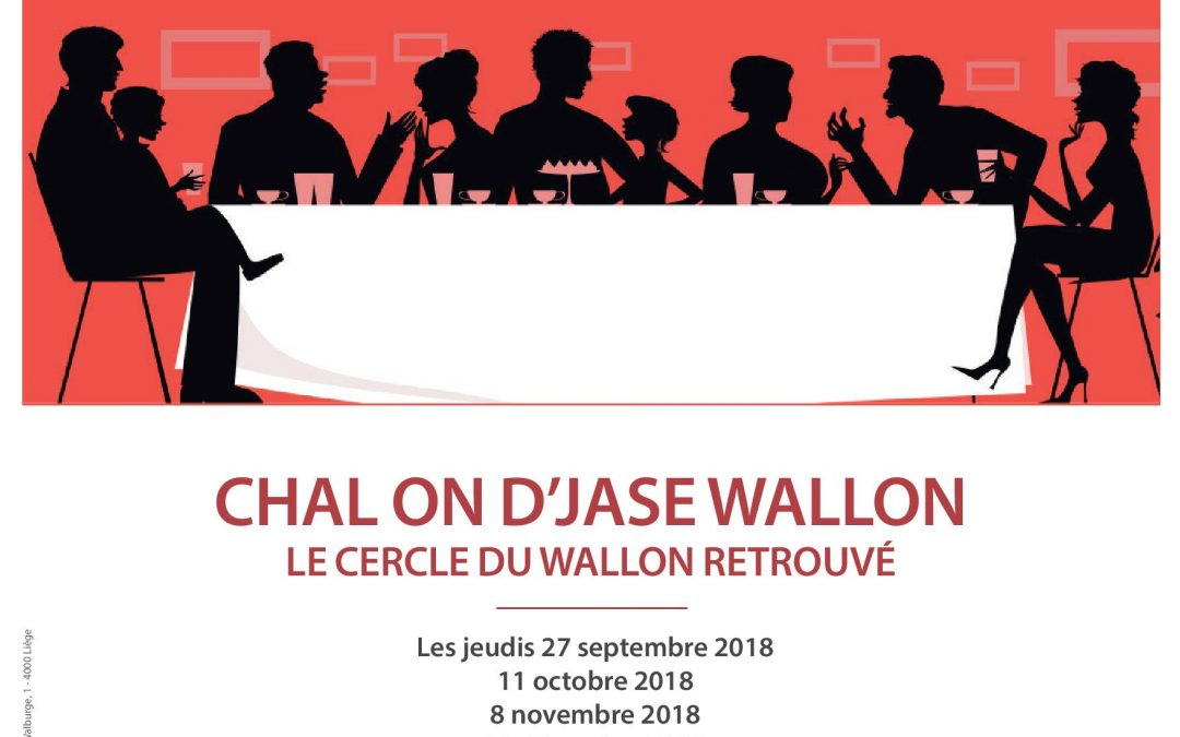 "Agenda ► Tables de conversation en wallon ""Cercle du wallon retrouvé"""