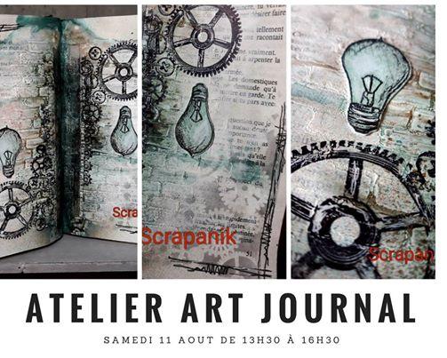Agenda ► Atelier art journal