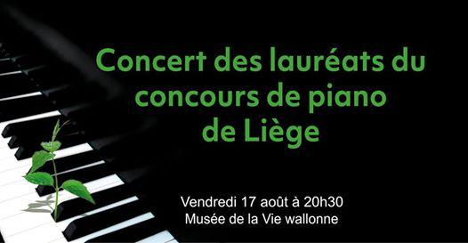 Agenda ► Concert en plein air des lauréats du Concours de piano de Liège