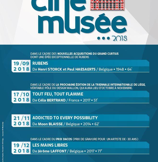 Agenda ► Ciné-musée : programme de la rentrée