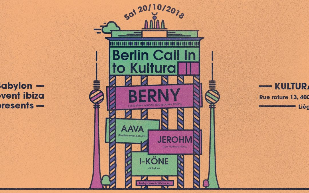 Agenda ► Berlin Call in to Kultura Liège