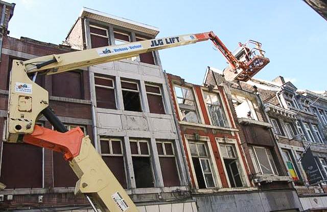 La Ville démolit à nouveau des maisons d'intérêt patrimonial