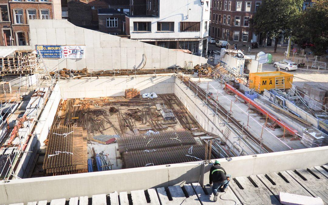 La piscine Jonfosse, en chantier, ouvrira l'été prochain