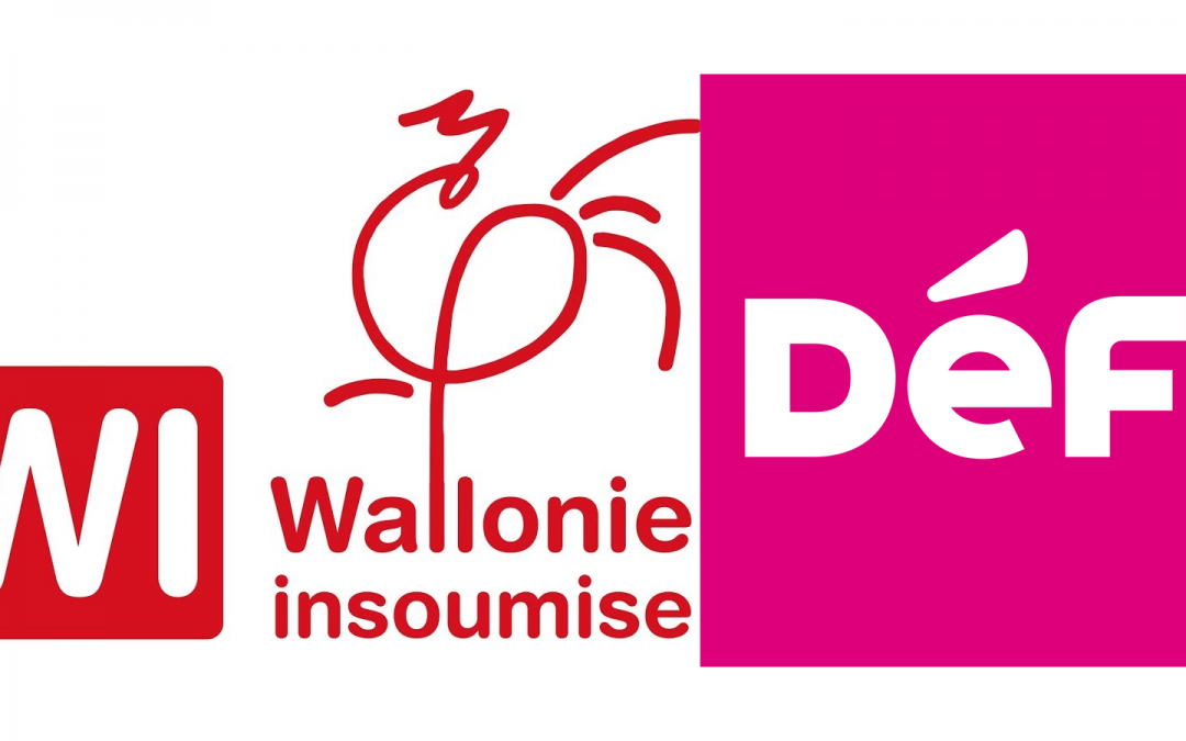 The lists Défi and Wallonie Insoumise were temporarily removed at the next elections