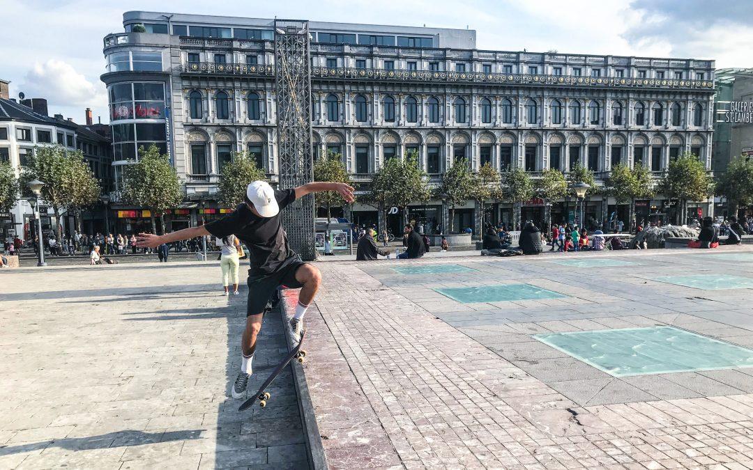 Des aménagements pour skaters et BMXers place Saint-Lambert ?