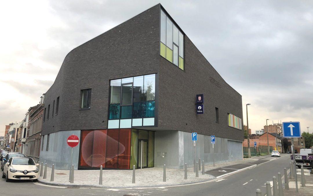 Le nouveau commissariat de Guillemins-Sclessin enfin inauguré