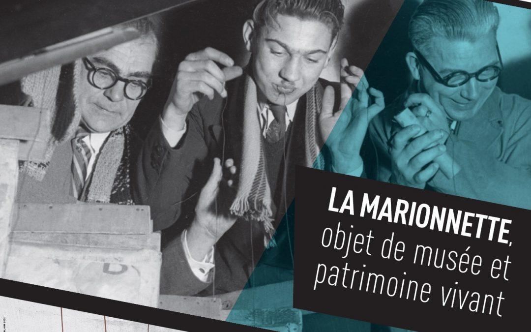 """Agenda ► Colloque : """"La marionnette, objet de musée et patrimoine vivant"""""""