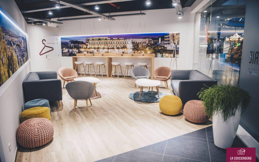 """Ouverture de la Conciergerie du Centre-Ville pour """"alléger"""" son shopping"""