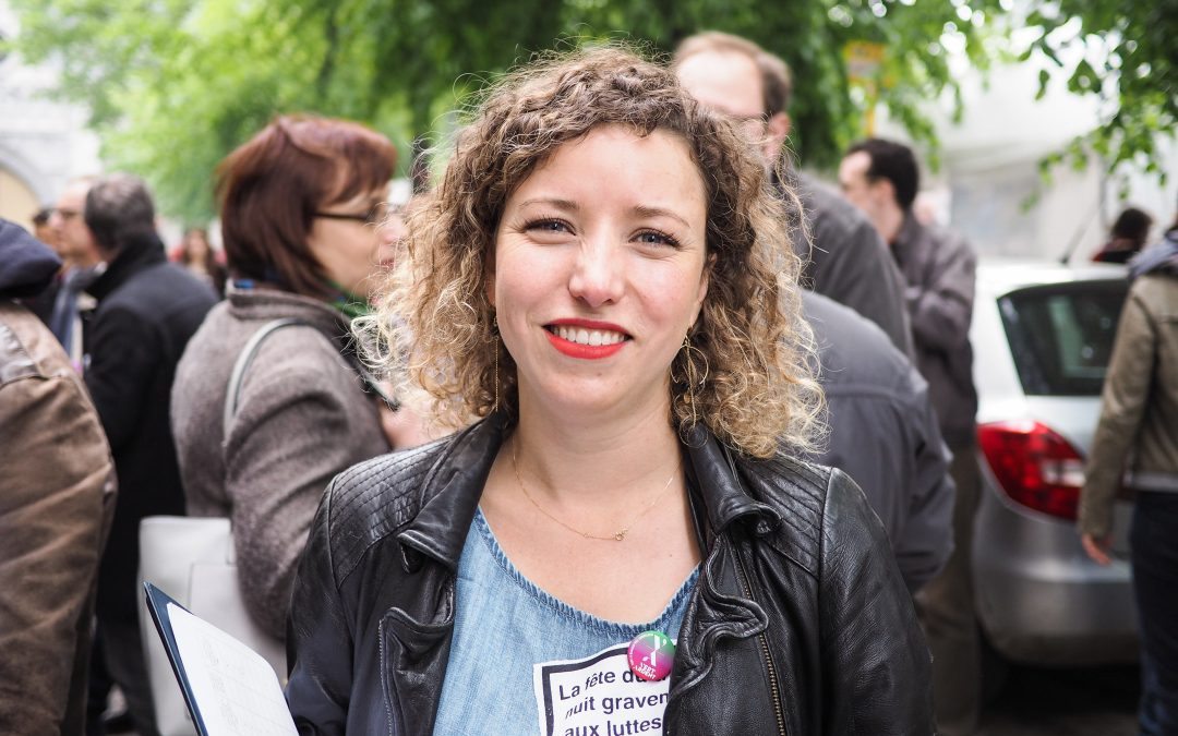 La conseillère communale écologiste Sarah Schlitz devient députée fédérale