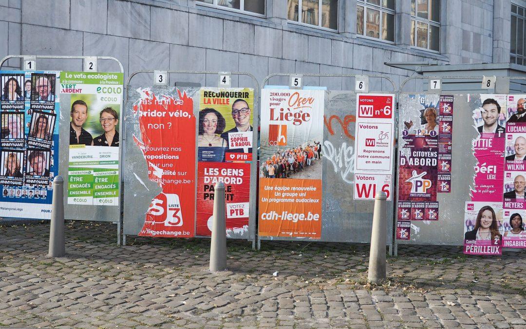 Elections à Liège: vademecum de l'électeur 2018