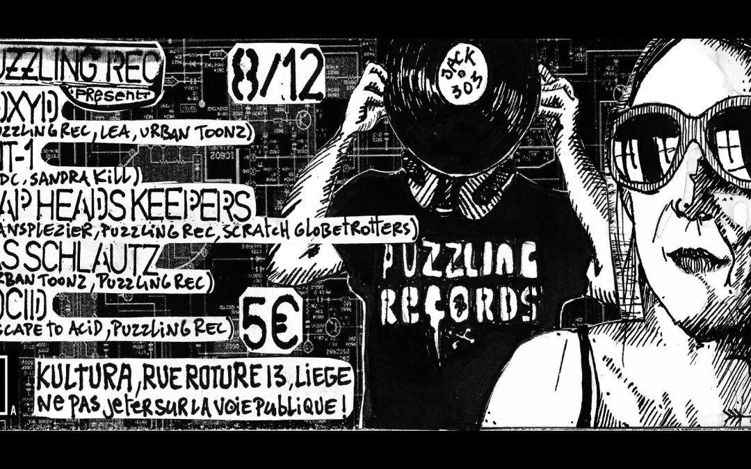 Agenda ► PuZZling rec – Electro, Acid, EBM, New Beat, Post-punk, New Wave