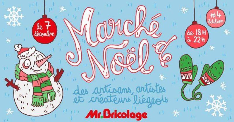 Agenda ► 4e Marché de Noël des artisans, artistes et créateurs liégeois!