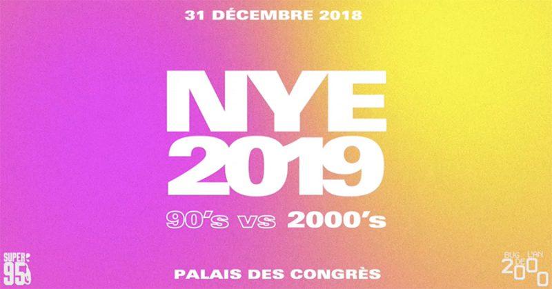 Agenda ► NYE 2019 – 90's vs 2000's