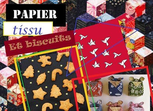 Agenda ► Ateliers Papier,  Tissu et Biscuits !