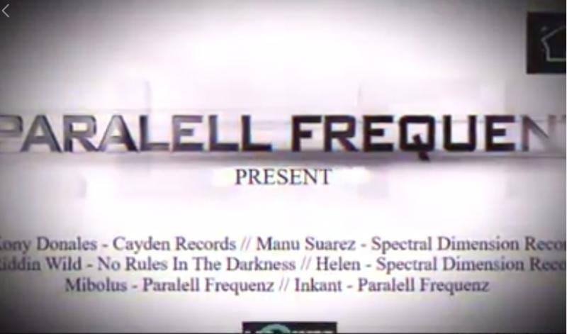 Agenda ► Paralell Frequenz Night 2