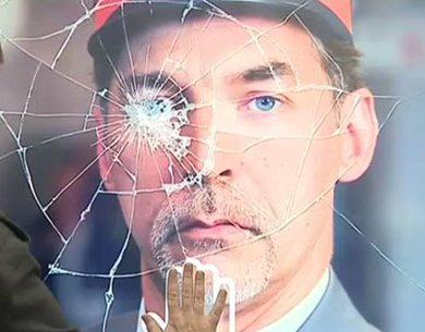 Touchez l'écran interactif situé gare des Guillemins pour montrer votre soutien aux agents du rail agressés
