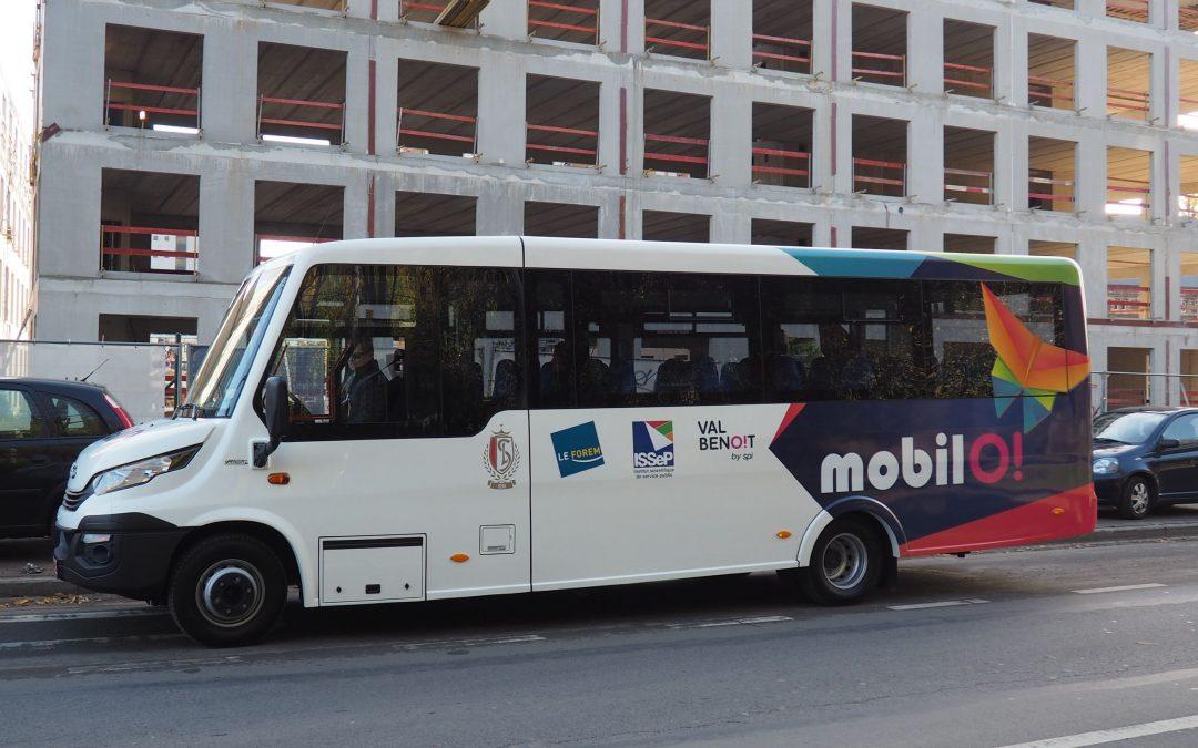 Nouvelle navette gratuite entre le parking du Standard à Sclessin et le Val-Benoît