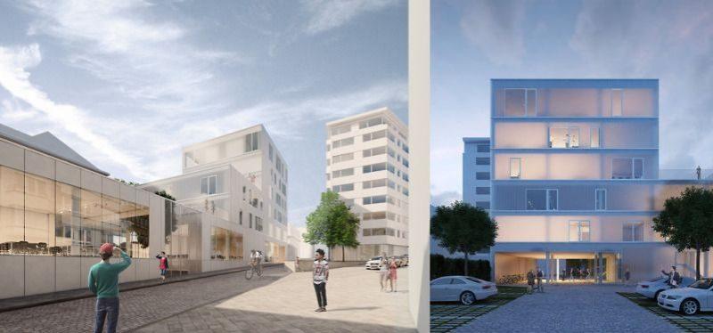 Nouveau bâtiment HEC Liège rue Saint-Gilles