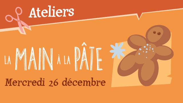 "Agenda ► Atelier ""La Main à la Pâte"" (""Noël au Musée 2018"" )"