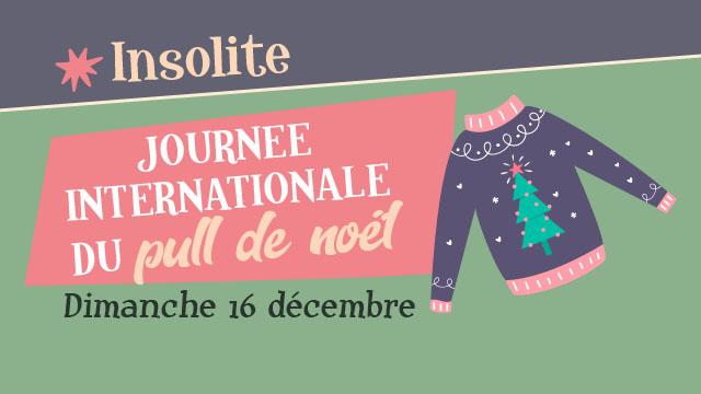 "Agenda ► ""Journée Internationale du Pull de Noël"" (""Noël au Musée"" 2018″)"